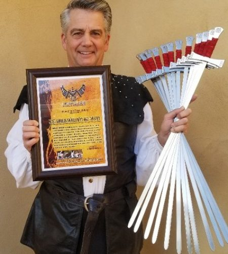 Sword Swallower Brad Byers Miracles World Records
