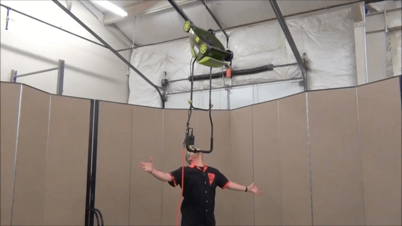 Brad Byers Balances A RUNNING Lawnmower!