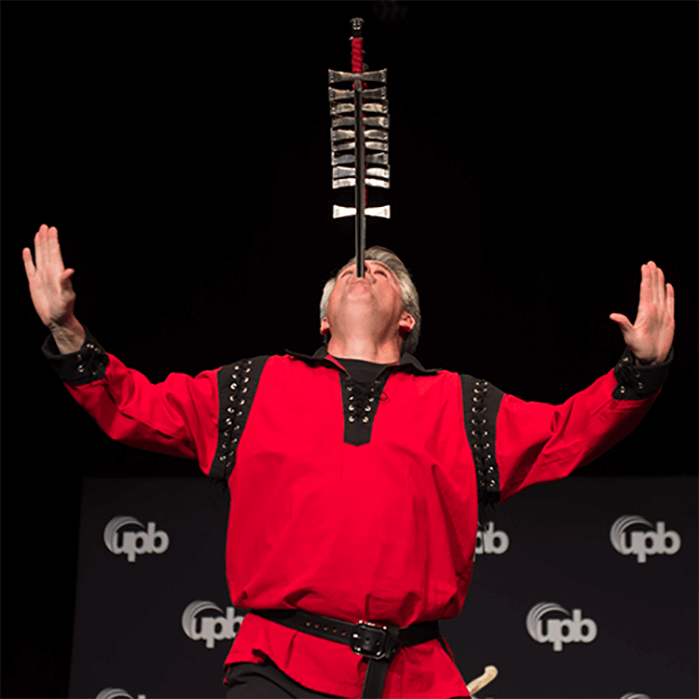 The Most Amazing Sword Swallower Brad Byers